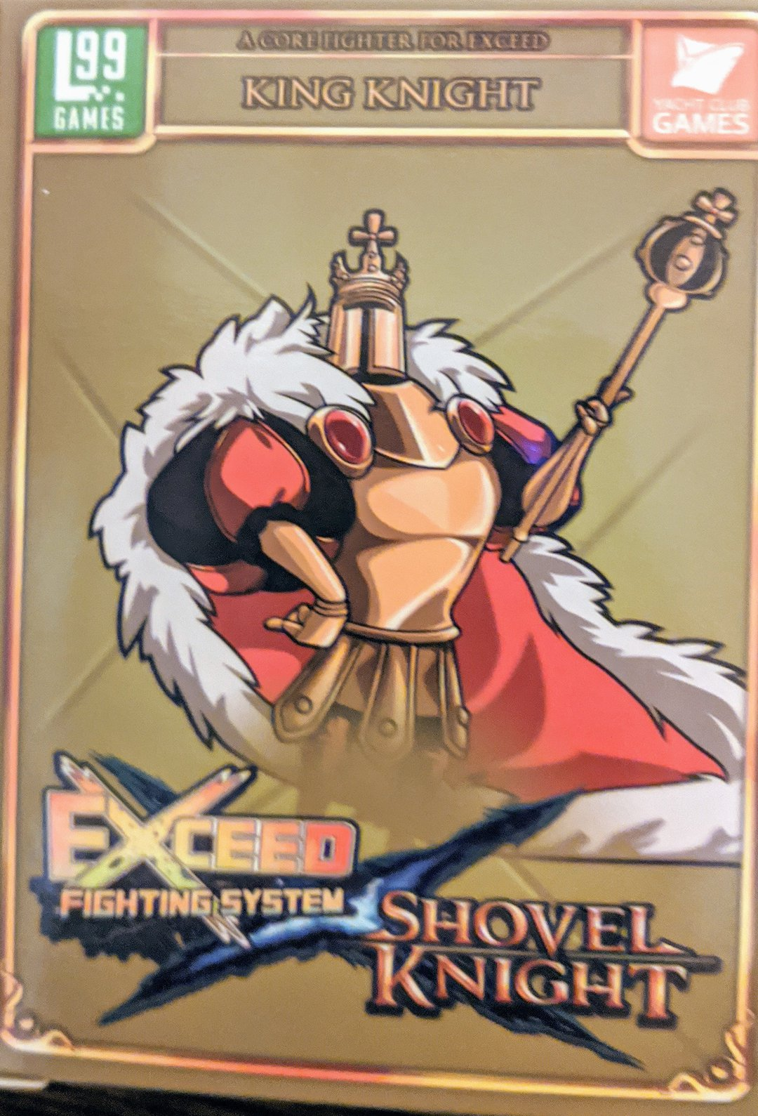 exceed shovel knight king